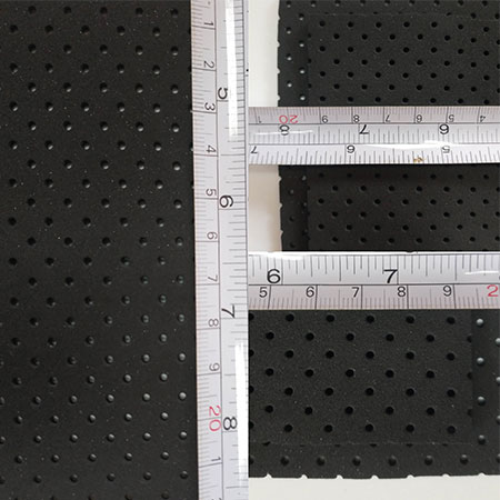 Perforated Neoprene Sheet - 3-2
